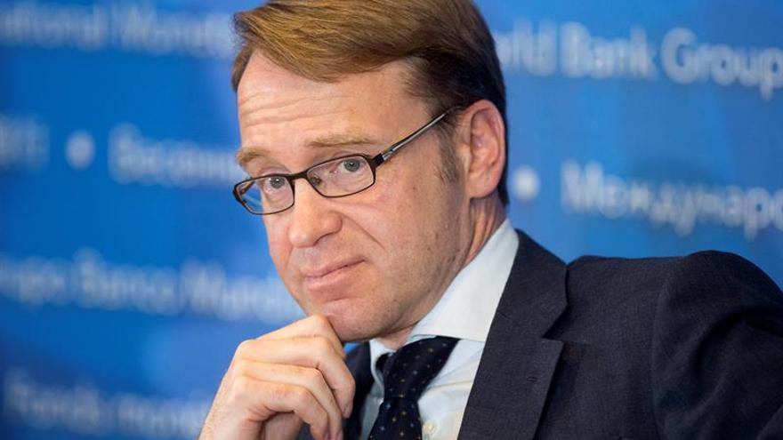 El presidente del Bundesbank advierte contra un rescate bancario en Italia