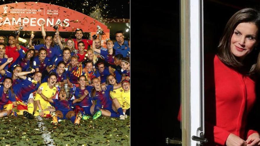 FC Barcelona / Reina Letizia