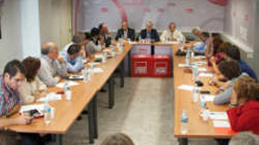 Comité Regional del PSC-PSOE.