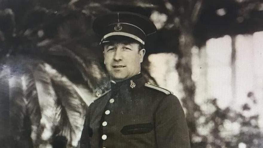 Gonzalo Tejero Langarita, jefe de la Policía Local de València, fusilado en 1936
