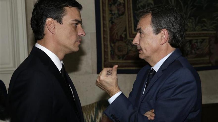 Zapatero estará con Sánchez en el mitin de Gijón el día 10