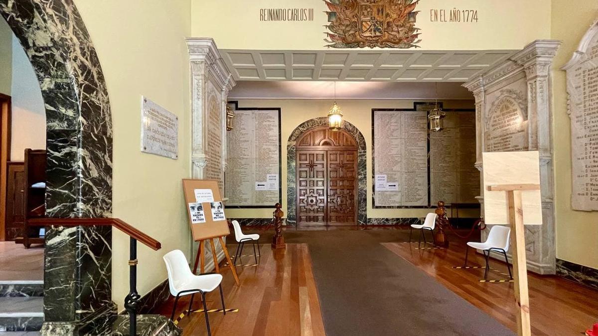 Interior de la residencia de la Misericordia de Bilbao