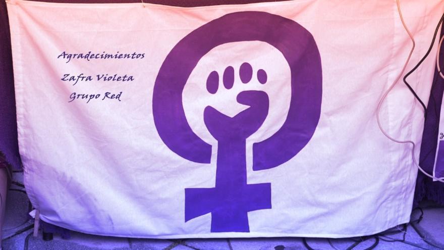 Agradecimiento del proyecto documental al colectivo Zafra Violeta