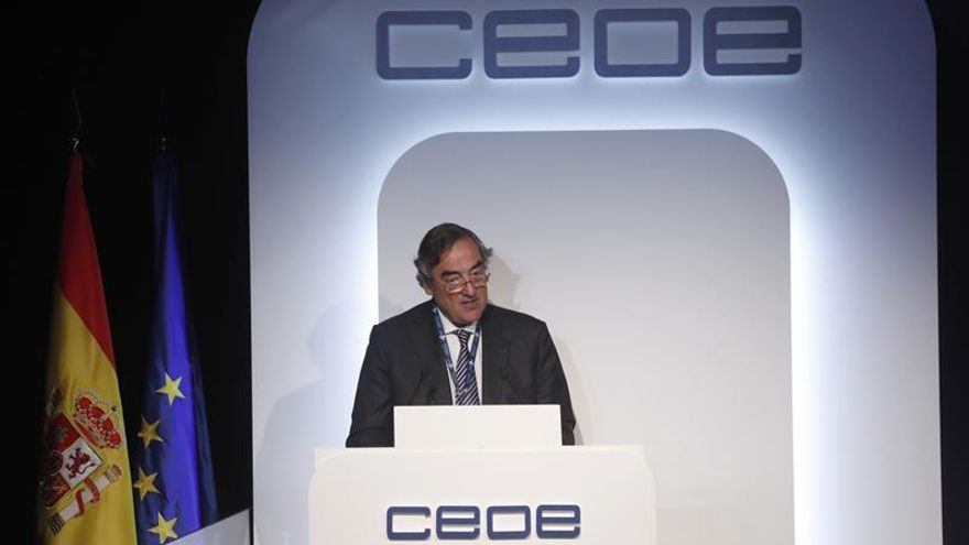 CEOE lamenta que la actividad empresarial siga perdiendo peso en presupuestos