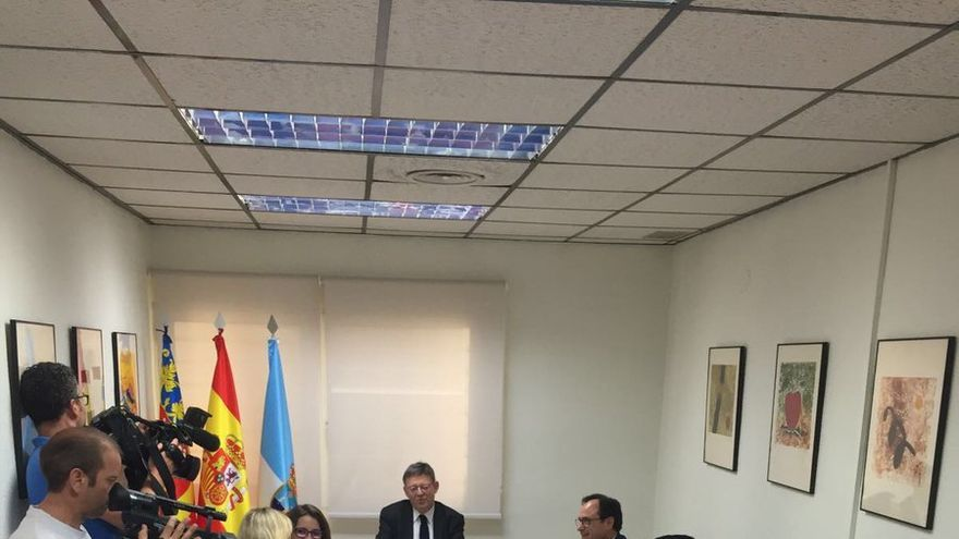 El pleno del Consell reunido en Torrevieja.