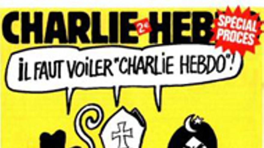 Portada de Charlie Hebdo por las críticas recibidas por cristianos, judíos y musulmanes