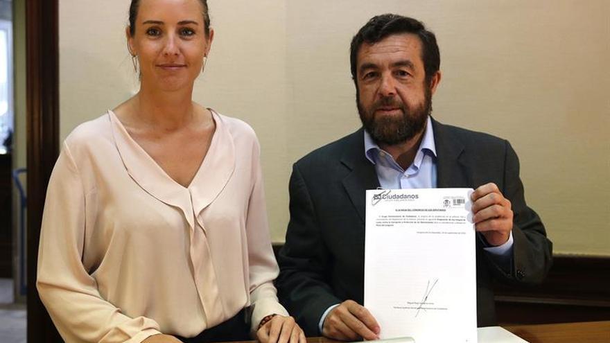 Ciudadanos reprocha a Rajoy su silencio sobre Barberá
