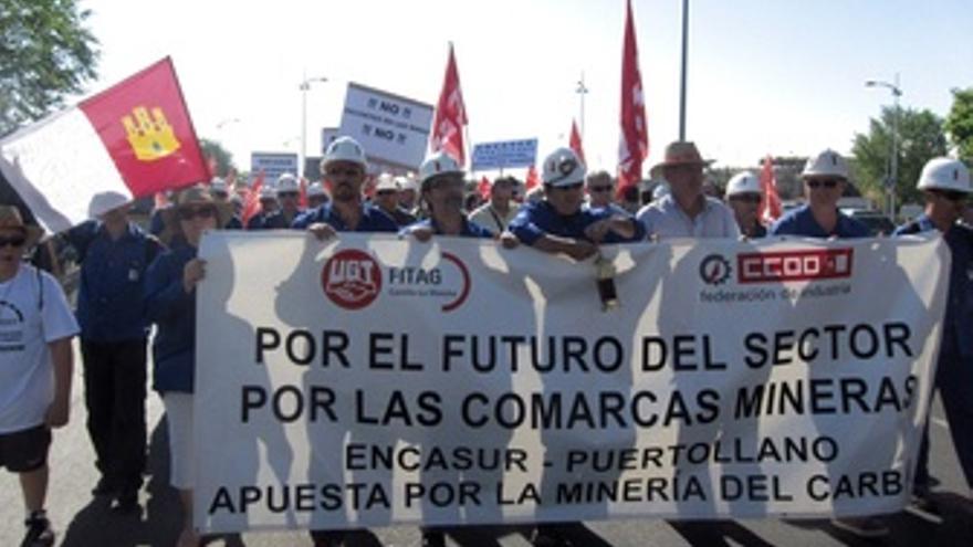 Manifestación Mineros En Toledo