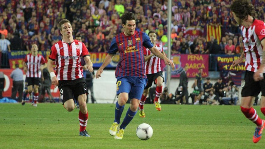 La Ertzaintza colabora con los Mossos d'Esquadra en el dispositivo de seguridad de la final de Copa en Barcelona
