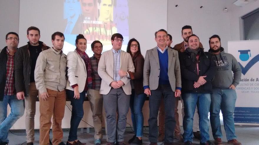 Agustín Conde (PP) en Debate a cuatro en la Universidad de Castilla-La Mancha