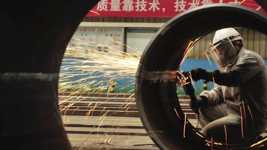 Los beneficios de las empresas industriales chinas caen un 4,6 % en octubre