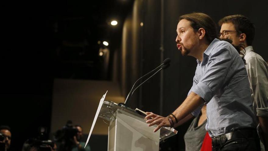 Iglesias: Si PSOE no entiende la diversidad está entregando el gobierno al PP