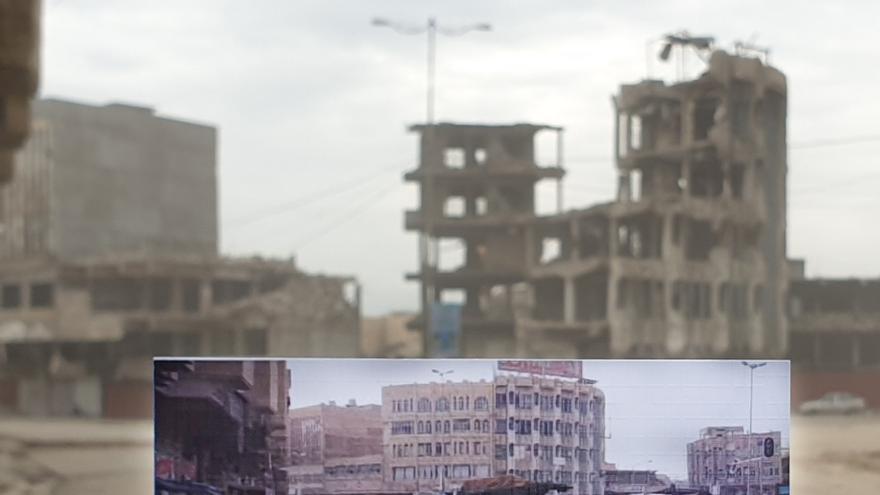 Calles del centro de Mosul, en el barrio de Bab al Toub.