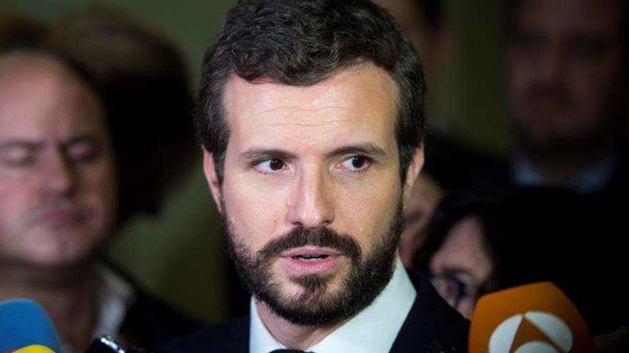 El partido de Pablo Casado pidió a la Junta Electoral que inhabilite a Torra.