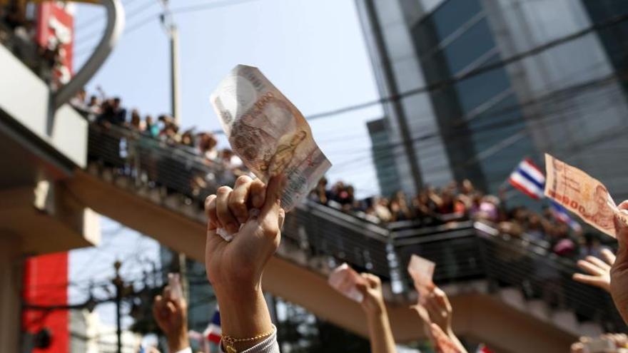 El Gobierno declara el estado de excepción en Bangkok por las protestas