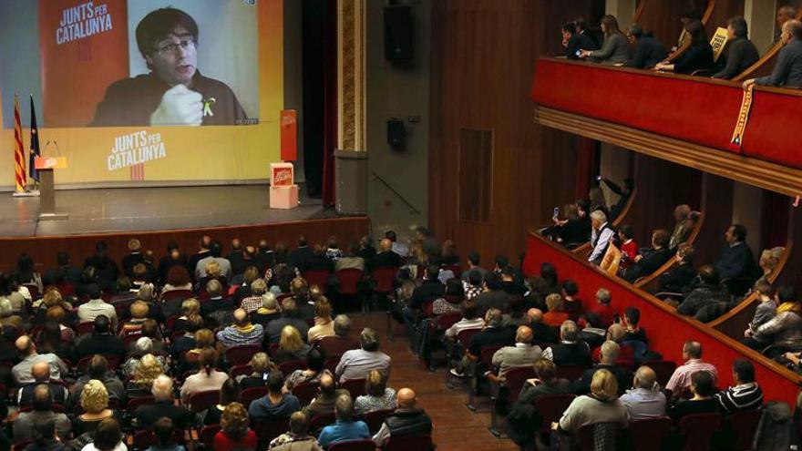 Puigdemont acusa a Iceta de hacer trampas y alerta de un gobierno Cs-PSC-PPC