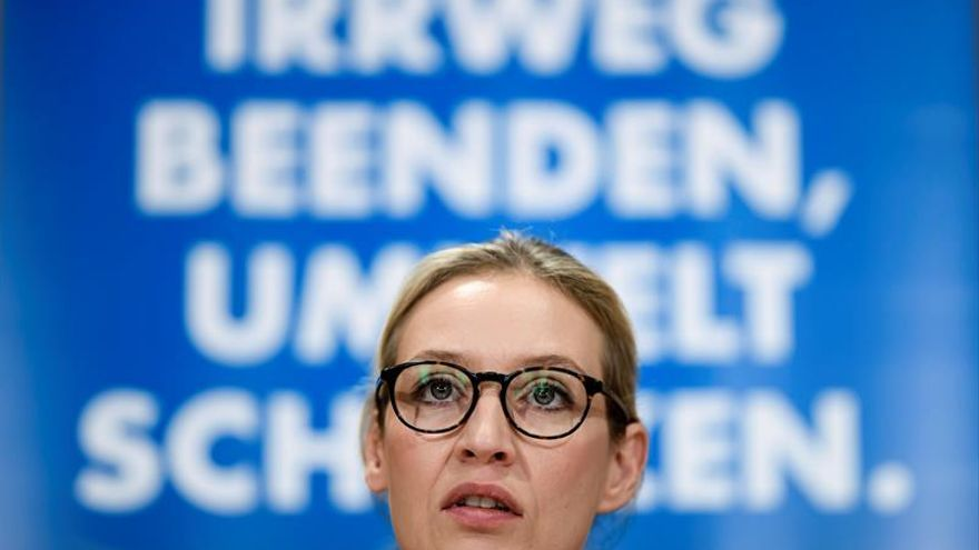 La líder ultraderechista alemana recurre contra la difusión de un correo racista