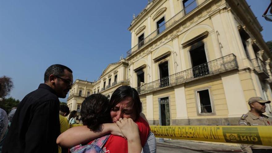 España, Francia y Portugal apoyarán la reconstrucción del museo incendiado en Río de Janeiro