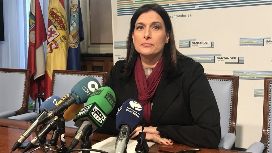 La alcaldesa de Santander, Gema Igual.