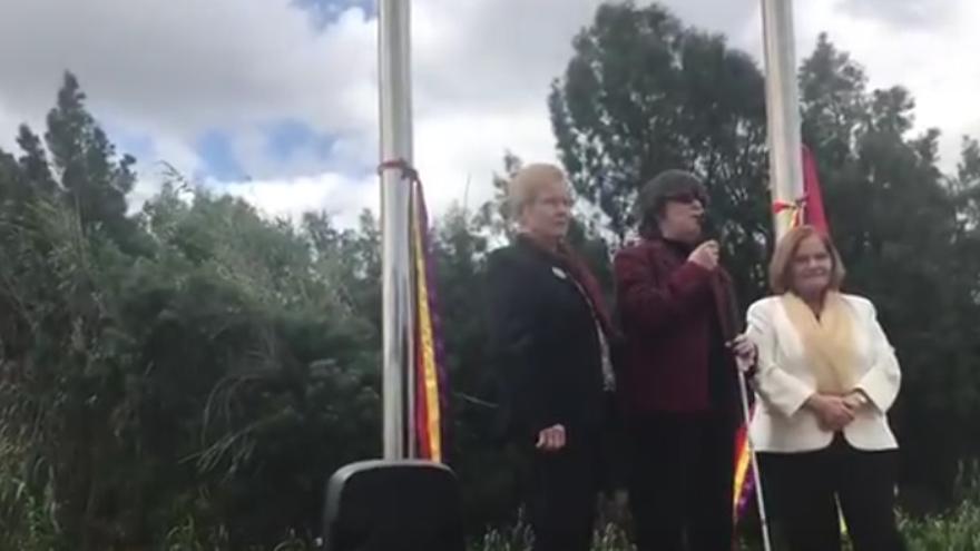 Homenaje en Arucas a los desaparecidos por el franquismo.