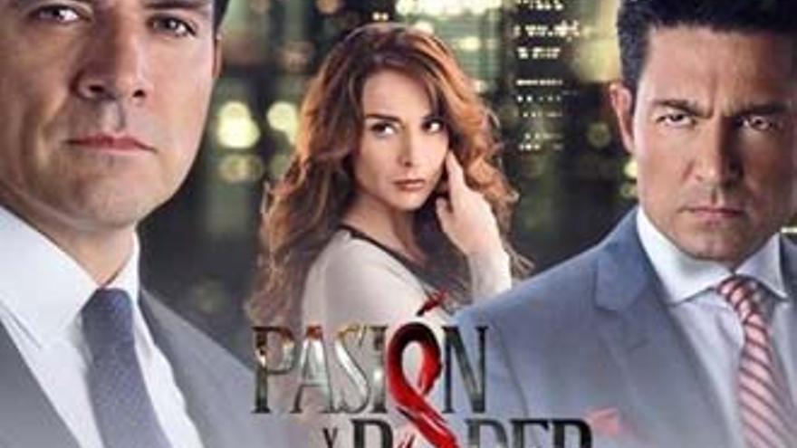 'Pasión y poder', una telenovela que gusta en Nova