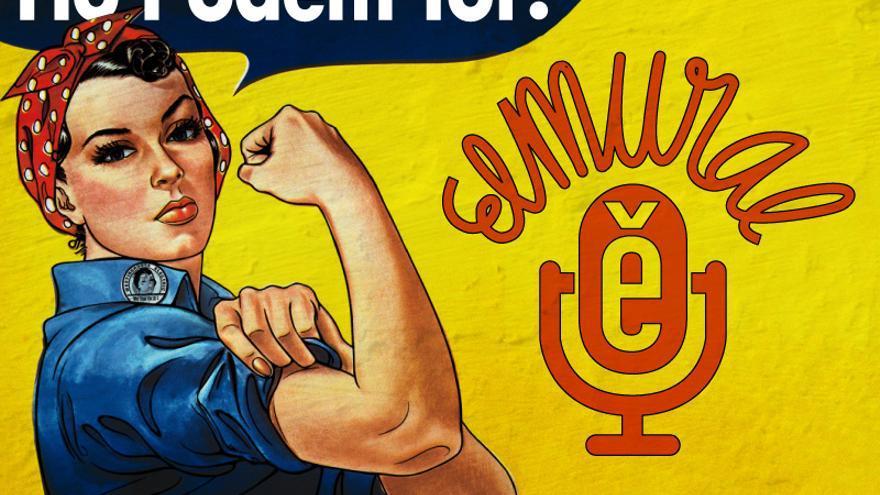 Un mural de dones for Mural nuestra carne