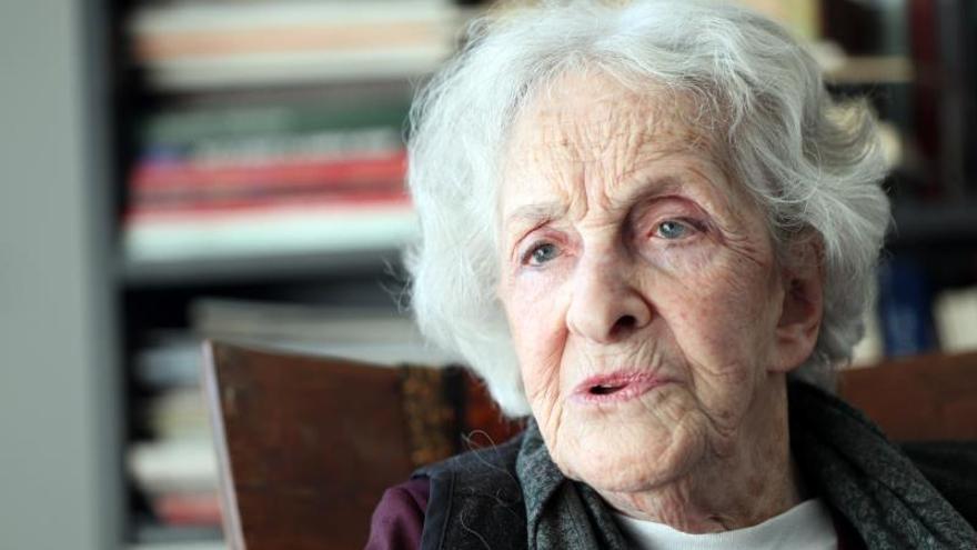 """Ida Vitale: """"La poesía es para todos, no puede ser especializada o recóndita"""""""