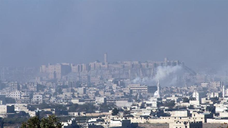 Continúan los choques en el área en poder de los rebeldes en Alepo