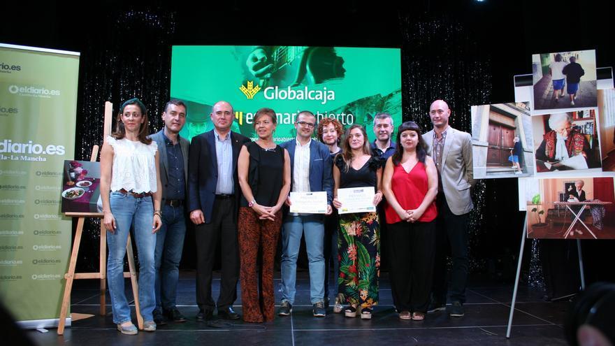 Ganadores con autoridades FOTO: Lourdes Cifuentes