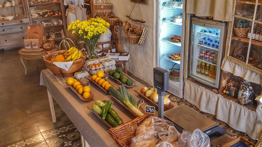 Nieves Castelló comercializa productos exclusivos de La Palma.