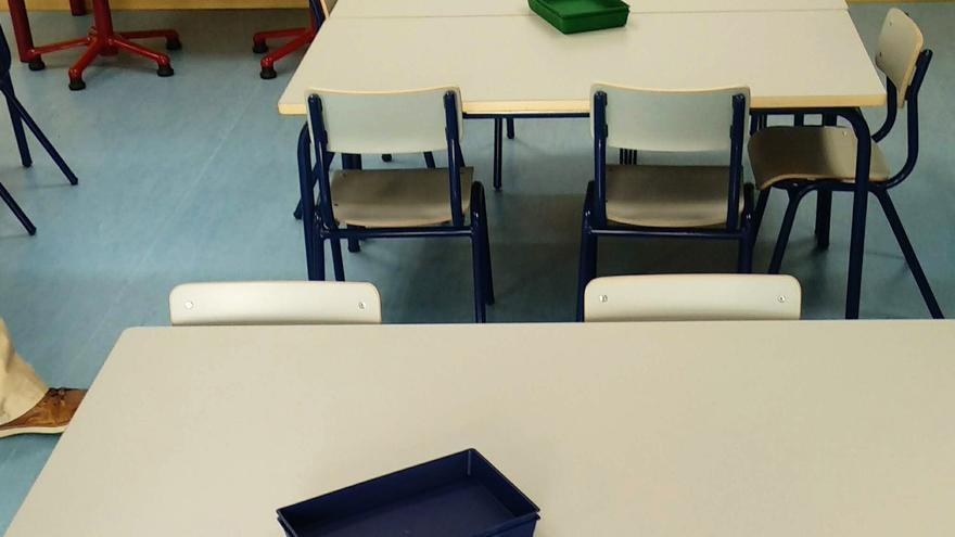 Imagen de recurso de un aula.