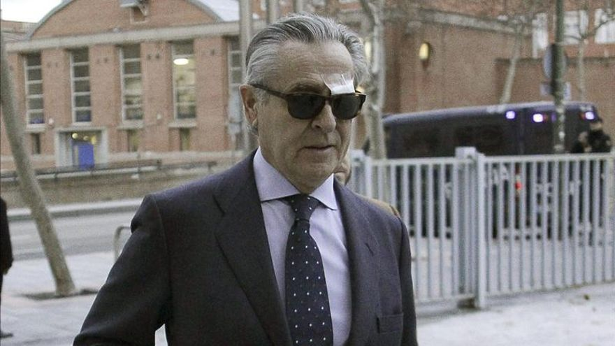 Blesa, a su llegada a los juzgados de Plaza de Castilla en enero / EFE