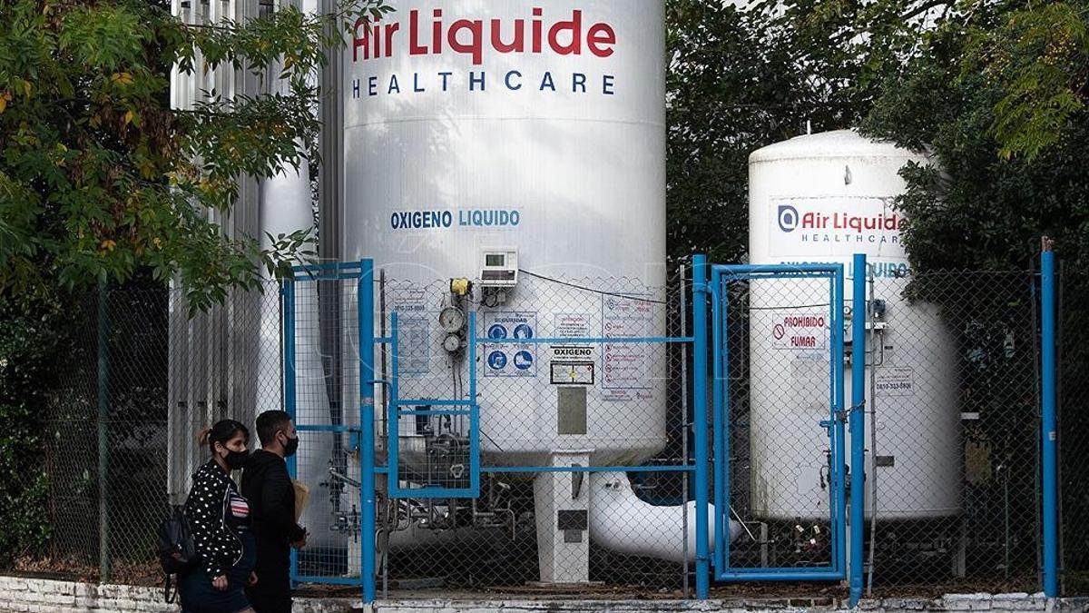 Air Liquide, de capitales franceses, una de las dos compañías más grandes de gases industriales.