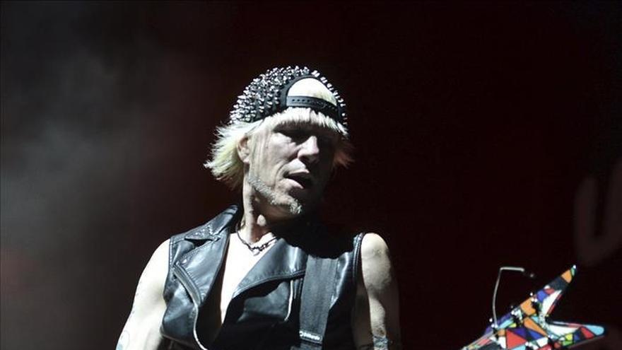 El guitarrista de Scorpions estará en el Derrame Rock