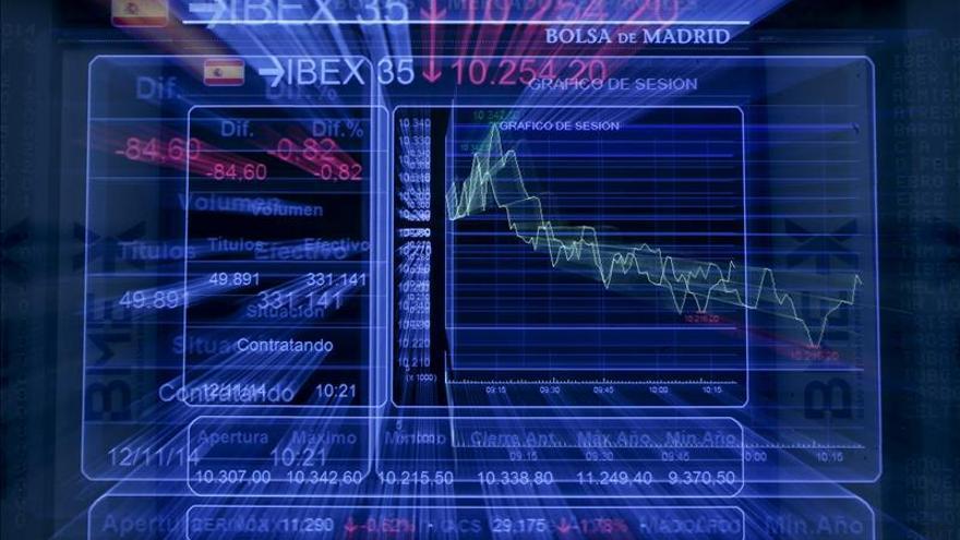 El IBEX sube el 0,16 por ciento tras la apertura y supera los 10.700 puntos