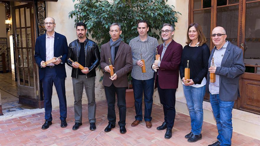 Guanyadors dels Premis Ciutat d'Alzira.