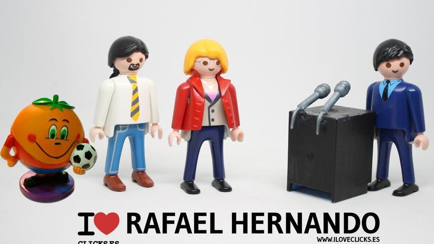 I love Rafael Hernando