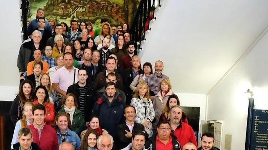 Cien trabajadores se incorporan a servicios municipales por el programa de Corporaciones Locales
