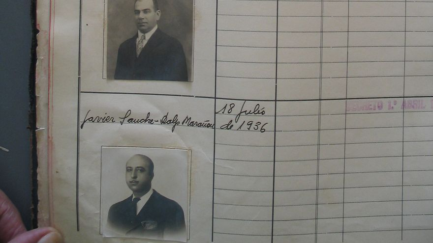 Carnés de conducir expedidos entre 1934 y 1939 en Sevilla.