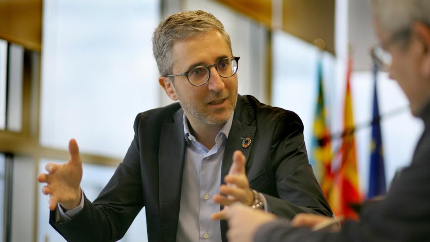 El conseller de Política Territorial, Arcadi España