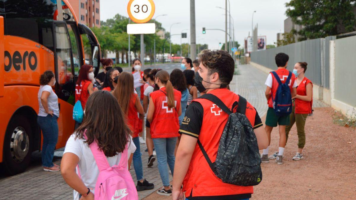 Escuela de verano de Cruz Roja en Córdoba.