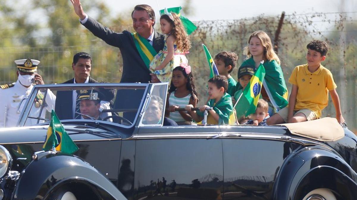 Bolsonaro amenazó a la Corte.