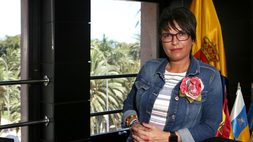 Elena Máñez, consejera de Políticas Sociales y Accesibilidad del Cabildo de Gran Canaria