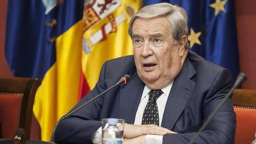 Jerónimo Saavedra es Diputado del Común. Foto: EFE/ RAMÓN DE LA ROCHA.