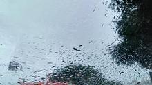 Lluvia en la isla de Tenerife, en una imagen de archivo