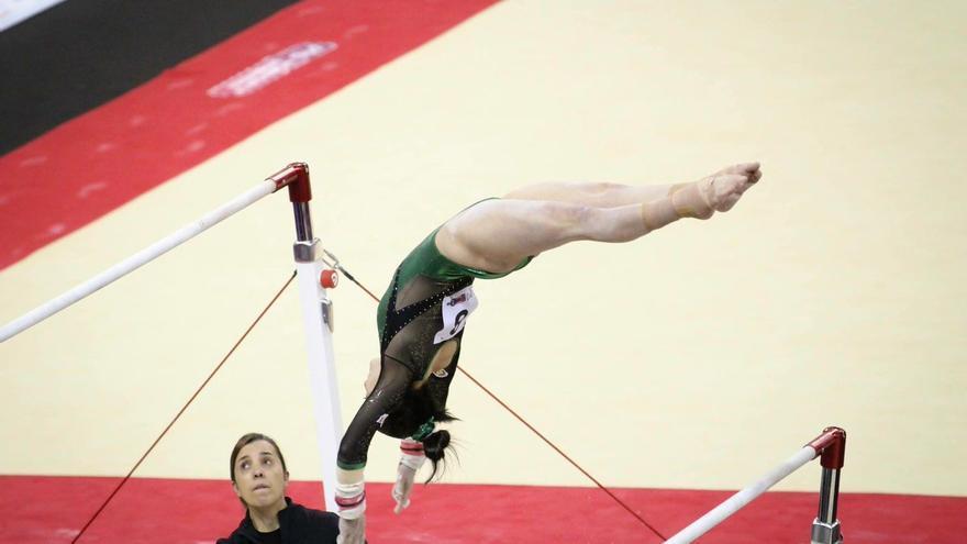 Ana Pérez, la campeona de España de gimnasia artística