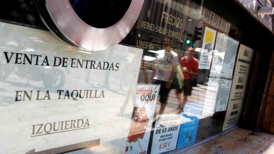 La recaudación del cine español sube un 26,8 % y la cuota de pantalla al 14 %