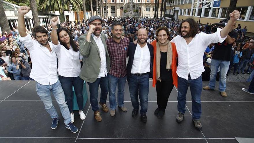 """Los alcaldes """"rebeldes"""" ensalzan a En Marea como """"herramienta del cambio"""""""