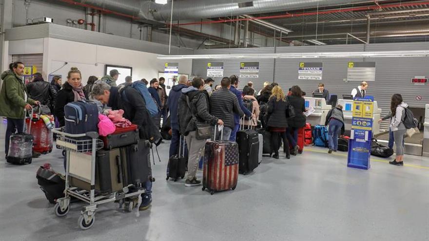 La huelga de pilotos de Ryanair tiene pocas repercusiones en Alemania