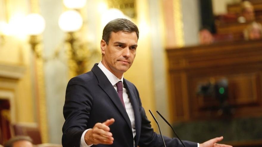 """Pedro Sánchez asume la """"derechización"""" del PP y pide a Casado """"responsabilidad"""" y mirar al futuro"""